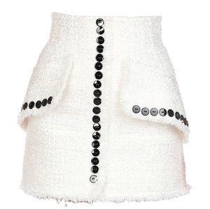 Alexander Wang Ivory Mini Skirt
